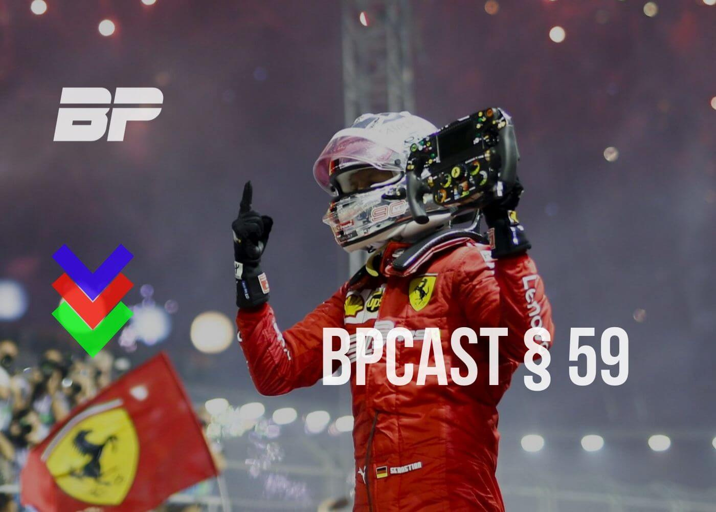 Foto de BPCast § 59 | Review do GP de Singapura de Fórmula 1