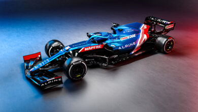 Foto de Alpine revela o A521, o carro francês do grid